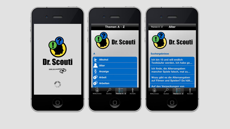 Dr. Scouti iPhone App