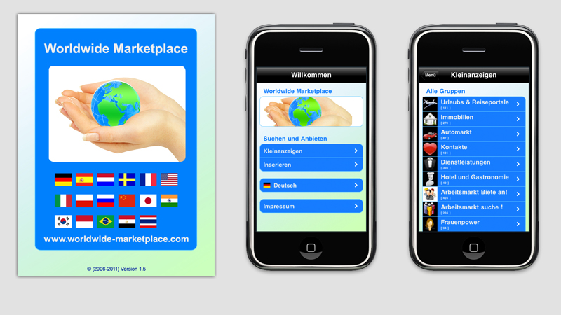 iPhone App für den Worldwide Marketplace