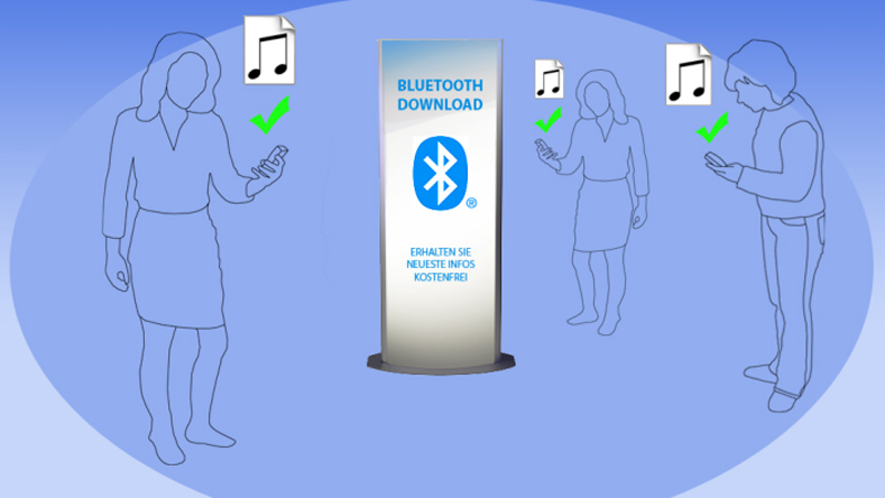 Methoden des Bluetooth-Marketing