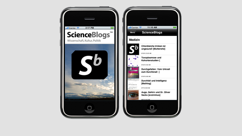 ScienceBlogs iPhone App