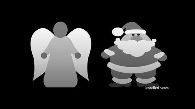 iPhone Tab Bar Icons, Weihnachtsmotive von iconsBerlin