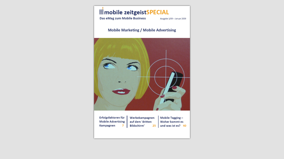 MZ Spezial - Mobile Marketing und Mobile Advertising